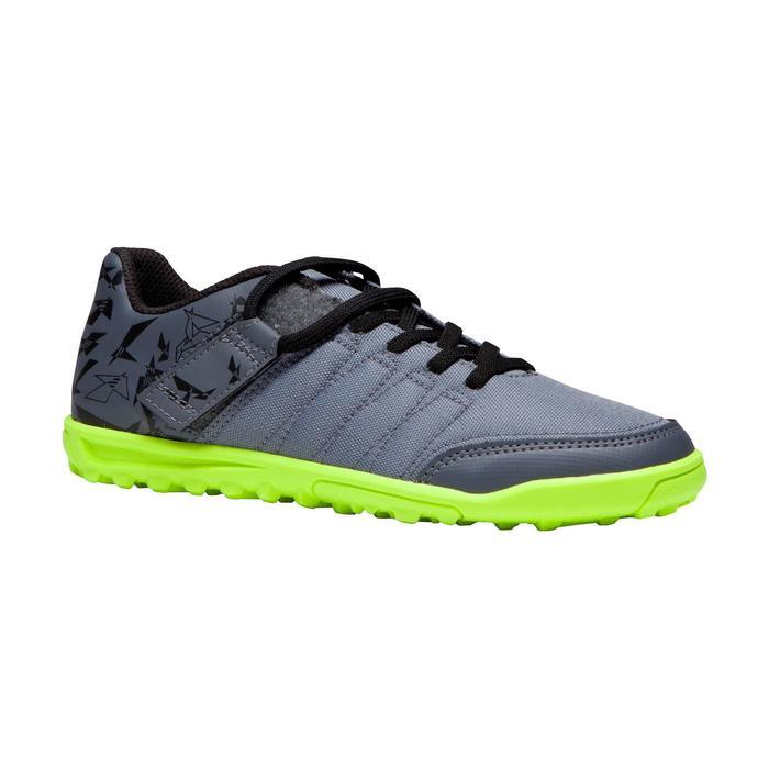 Chaussure de football enfant terrains durs Agility 300 HG noire - 1269541