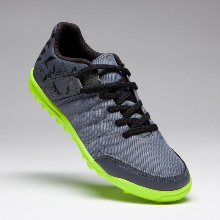 Chaussure de football enfant terrains durs Agility 300 HG noire - 1269542