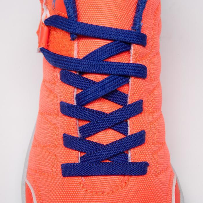 Chaussure de futsal enfant CLR 500 à scratch bleue - 1269544