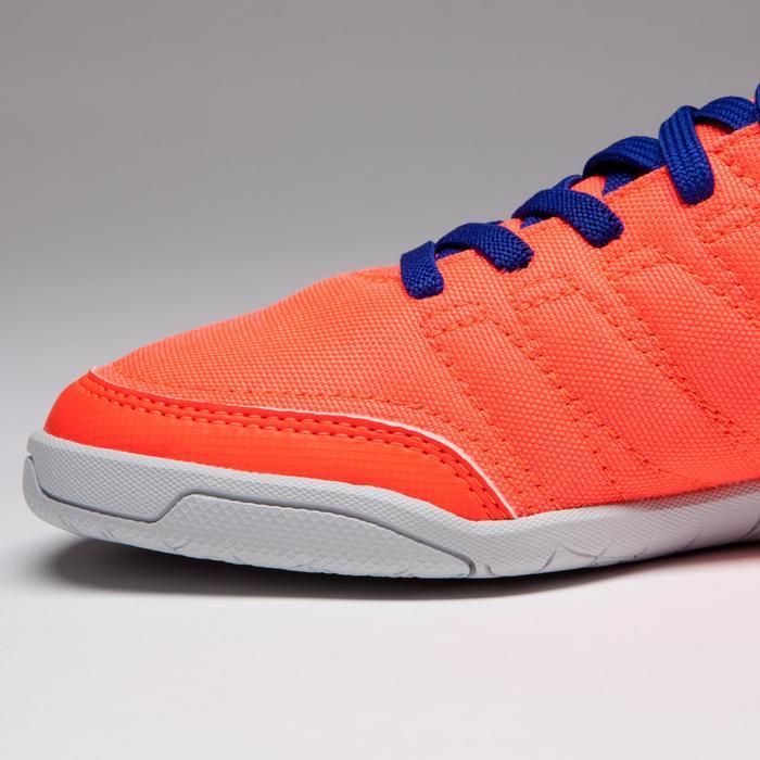 Chaussure de futsal enfant CLR 500 à scratch bleue - 1269553