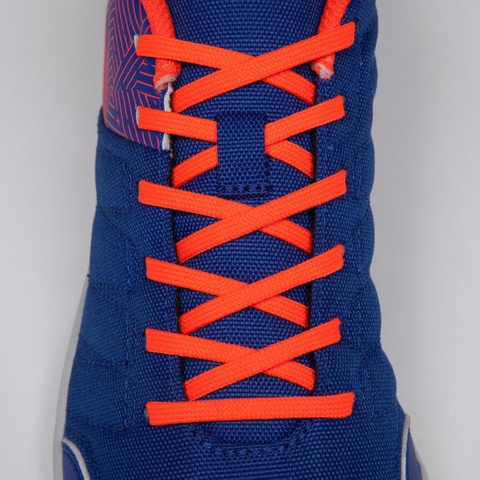 Chaussure de futsal enfant CLR 500 à scratch bleue - 1269558