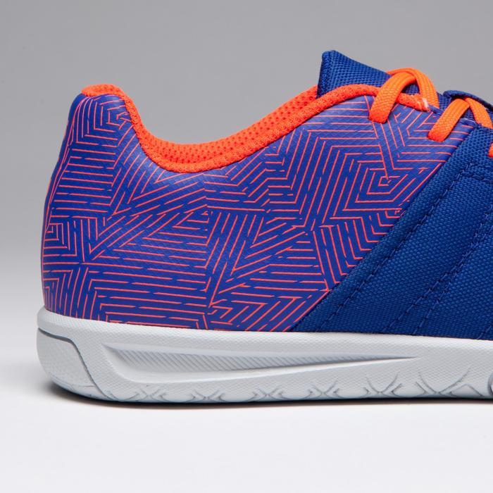 Chaussure de futsal enfant CLR 500 à scratch bleue - 1269559