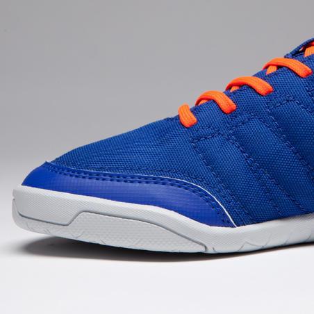 CLR 500 Kids Futsal Shoes - Blue/Orange