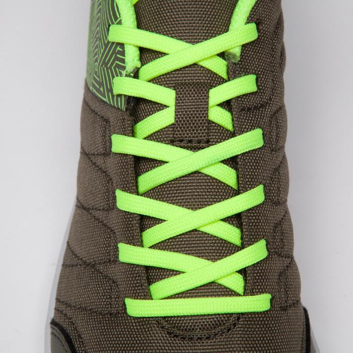 Chaussure de futsal enfant CLR 500 à scratch bleue - 1269581