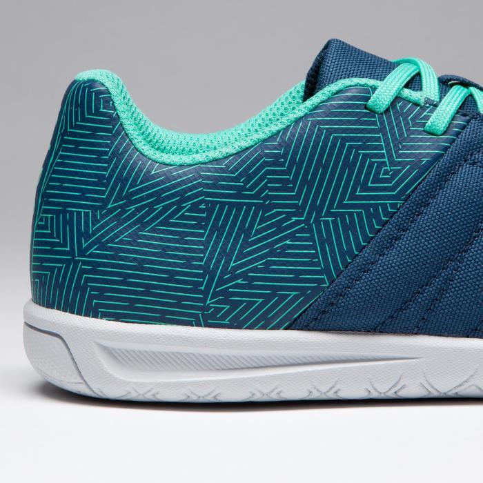 Chaussure de futsal enfant CLR 500 à scratch bleue - 1269603