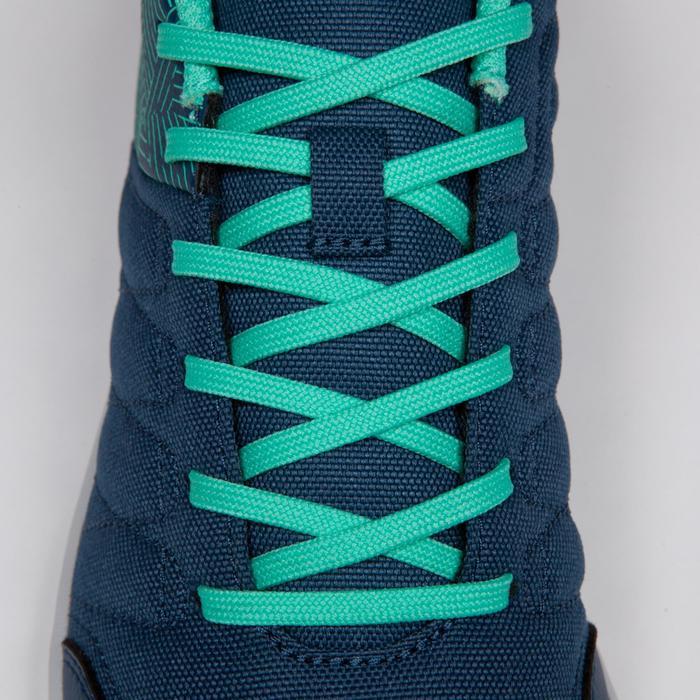 Chaussure de futsal enfant CLR 500 à scratch bleue - 1269604