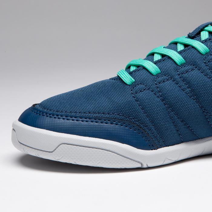 Chaussure de futsal enfant CLR 500 bleue verte