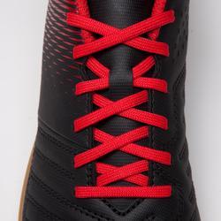 Zaalvoetbalschoenen voor kinderen Agility 100 zwart rood