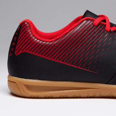 Agility 500 Kids Futsal Boots - Black/Red
