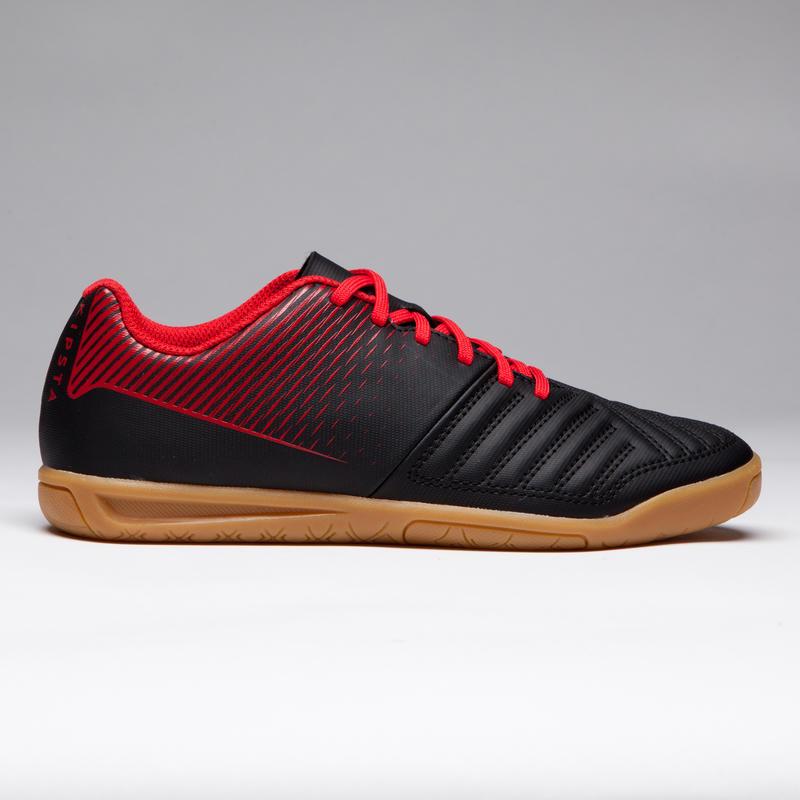 รองเท้าฟุตซอลเด็กรุ่น Agility 100 (สีดำ/แดง)