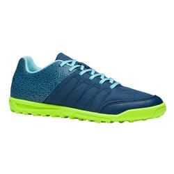 Voetbalschoenen kind CLR 500 HG blauw/geel