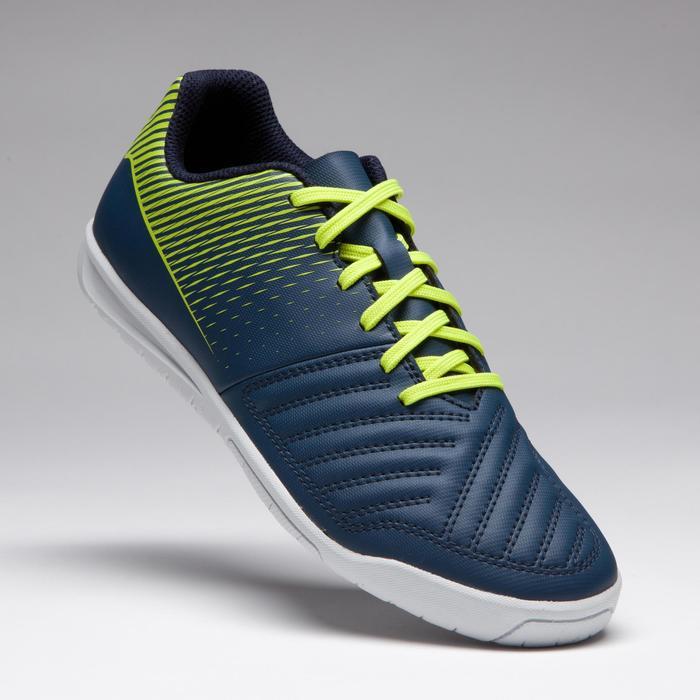 Agility 100 Kids Futsal Trainers - Blue/Yellow