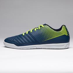 Chaussure de futsal enfant Agility 100 bleu jaune