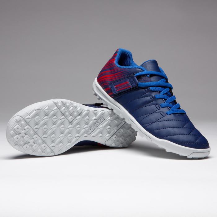Chaussure de football enfant terrains durs Agility  300 HG à scratch bleue - 1269700