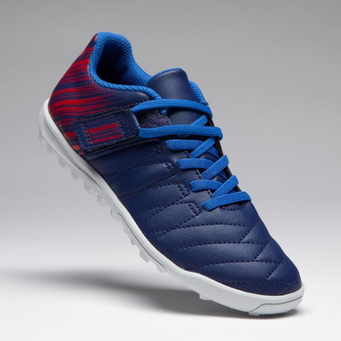 Chaussure de football enfant terrains durs Agility  300 HG à scratch bleue - 1269703