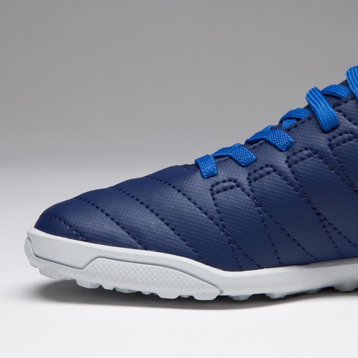 Chaussure de football enfant terrains durs Agility  300 HG à scratch bleue - 1269714