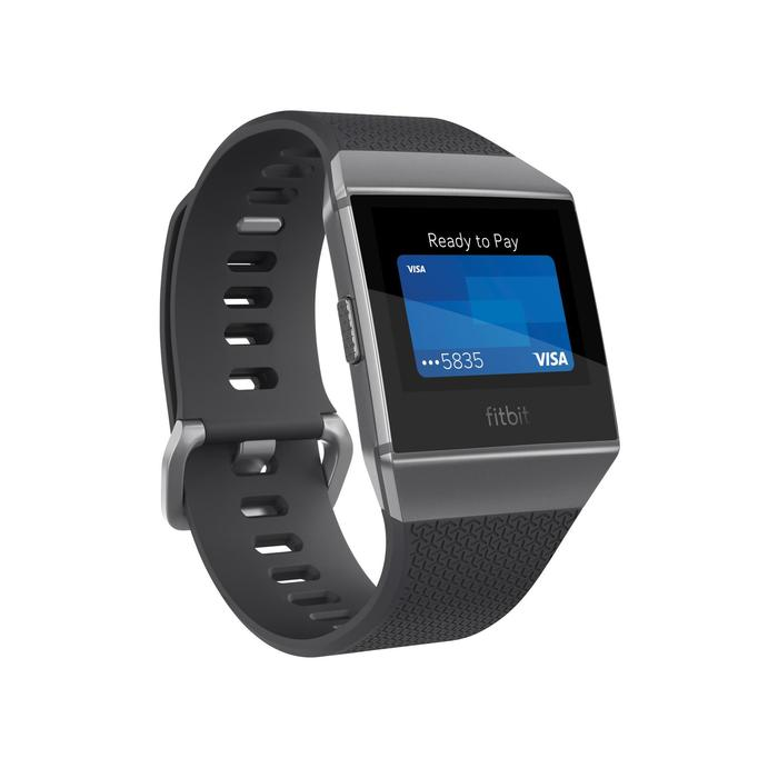 Montre-coach connectée Ionic avec cardio au poignet, GPS et musique