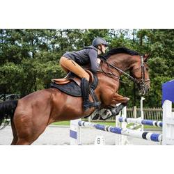 Botas de piel equitación adulto LB 900 negro