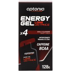 Gel énergétique ENERGY GEL LONG DISTANCE cola 4 x 32g