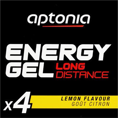 Gel énergétique ENERGY GEL LONG DISTANCE citron 4 x 32g