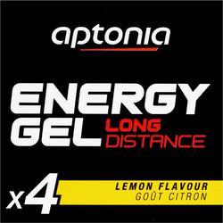 Gel Energético Triatlón Aptonia Energy Gel Long Distance Limón 4 X 32 G