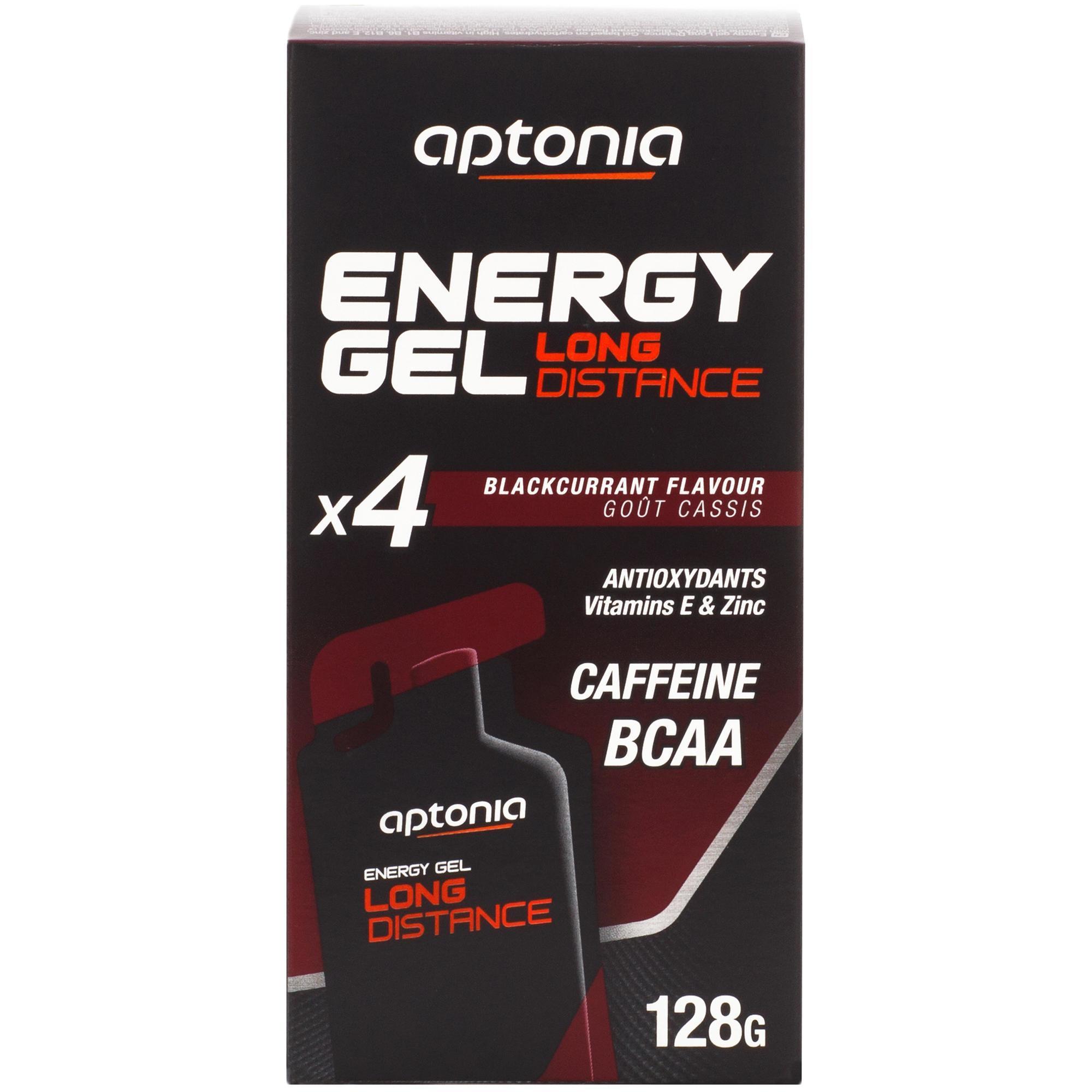 Aptonia Energiegel Long Distance zwarte bes 4x 32 g