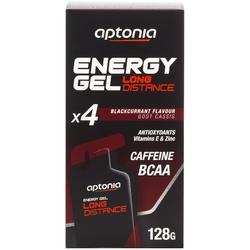 Energiegel Long Distance zwarte bes 4x 32 g