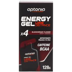 Energiegel lange afstand zwarte bes 4x32 g