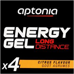 Gel energético ENERGY GEL LONG DISTANCE cítricos 4 x 32 g