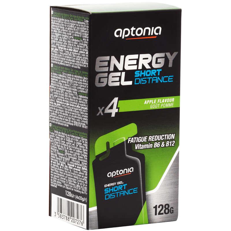 BARS, GELS & AFTER Running - Energy Gel Apple 4x32g APTONIA - Running