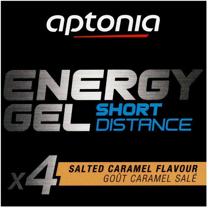 Gel énergétique ENERGY GEL SHORT DISTANCE Caramel beurre salé 4x32g - 1269867