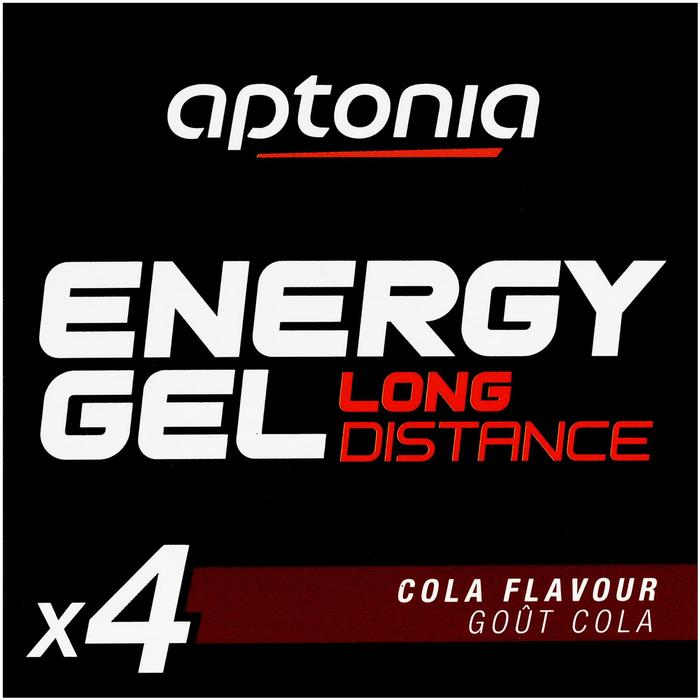 Gel énergétique ENERGY GEL LONG DISTANCE cola 4 x 32g