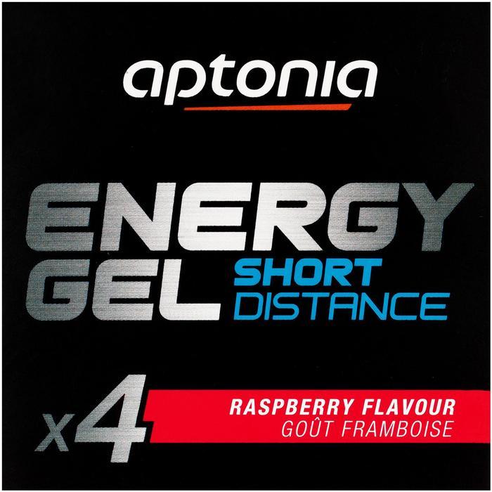 Gel energético corta distancia frambuesa 4 x 32 g
