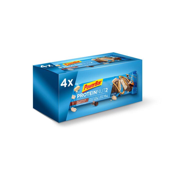 Eiwitreep Pack ProteinNut2 chocolade pinda's 4x(2x22,5)
