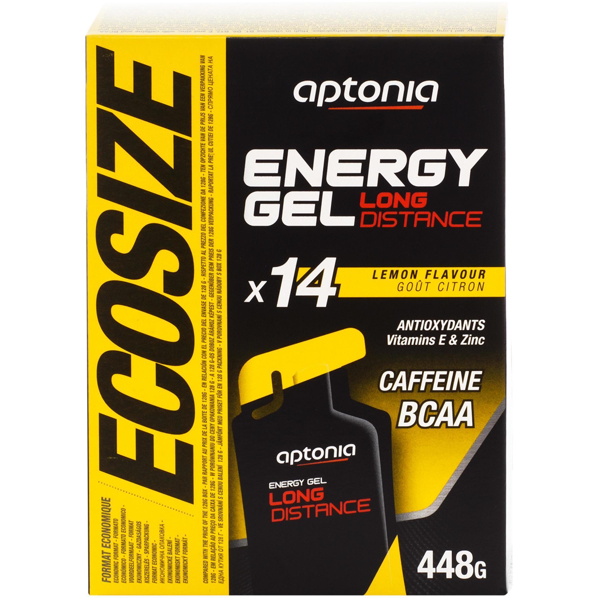 Aptonia Energiegel Long Distance citroen voordeelpak 14x 32 g