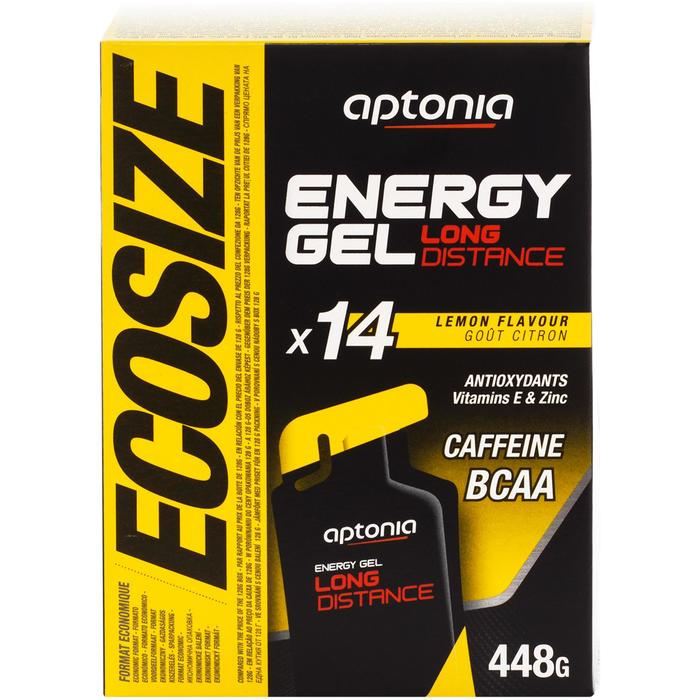 Energy-Gel Long Distance Ecosize Zitrone 14 × 32 g