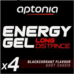 Gel énergétique ENERGY GEL Long Distance cassis 4 x 32g