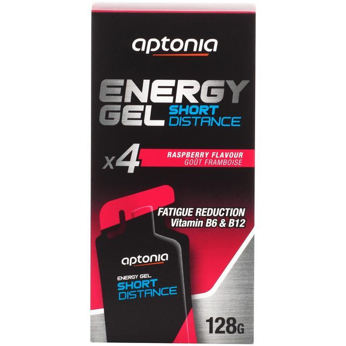 Gel énergétique courte distance framboise 4 x 32g
