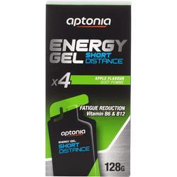 Gel énergétique ENERGY GEL SHORT DISTANCE Pomme 4x32g