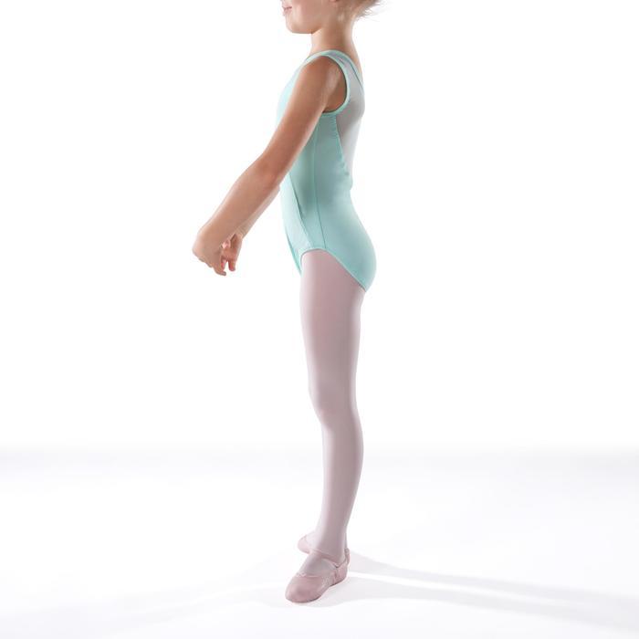 Justaucorps de danse classique bi-matière voile - 1269912