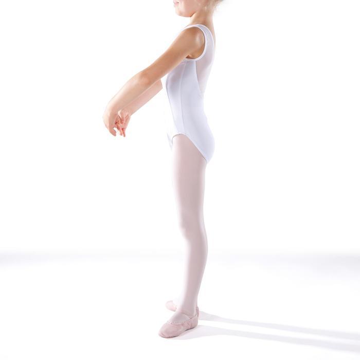 Justaucorps de danse classique bi-matière voile - 1269919