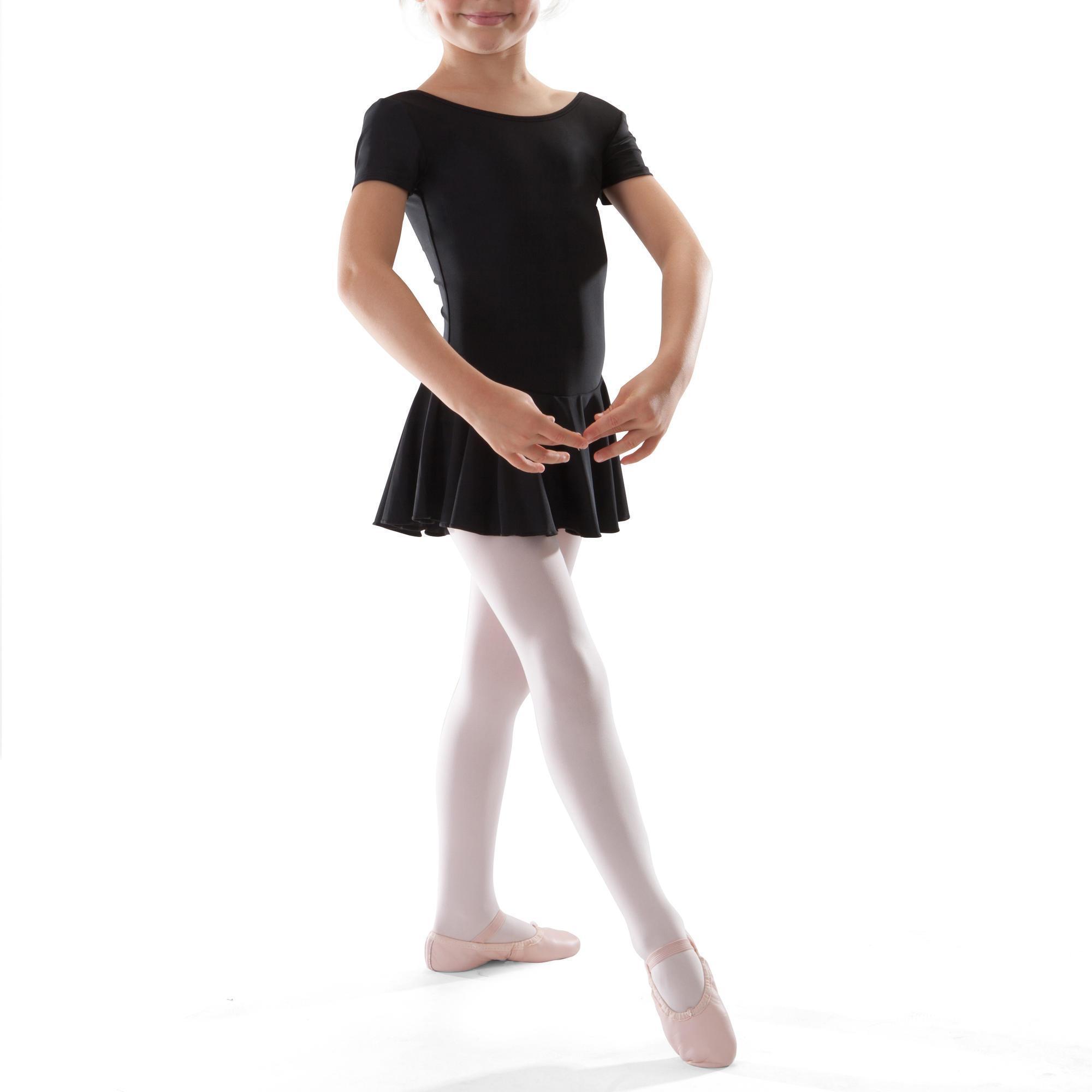 Mädchen,Kinder Tunika Ballett Mädchen schwarz | 03608419192698