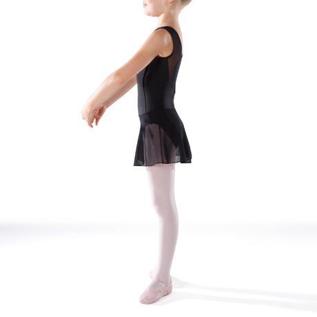 jupette de danse classique en voile fille noire domyos by decathlon. Black Bedroom Furniture Sets. Home Design Ideas