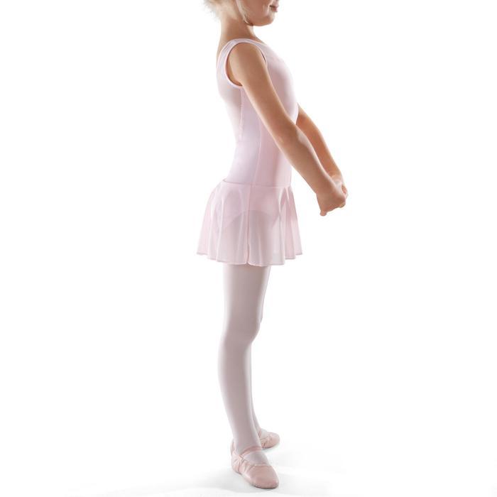 Túnica de danza clásica de dos tejidos niña rosa