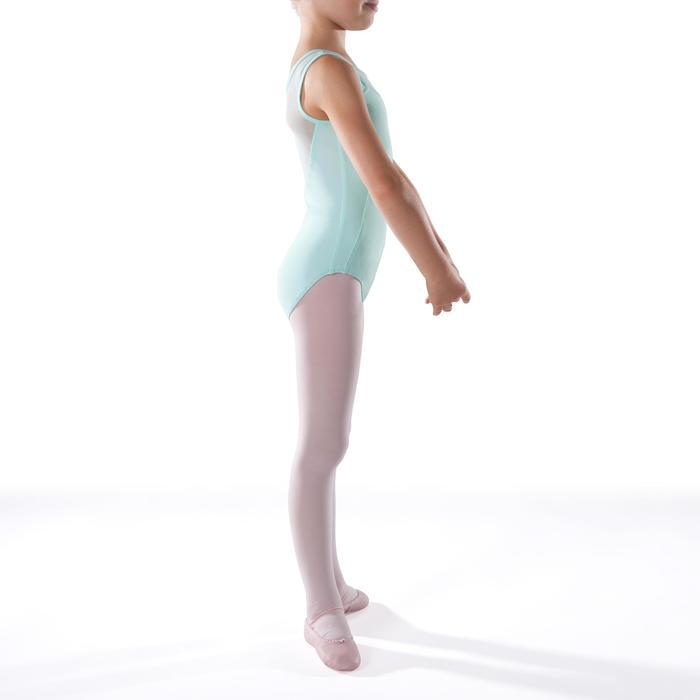 Justaucorps de danse classique bi-matière voile - 1269987
