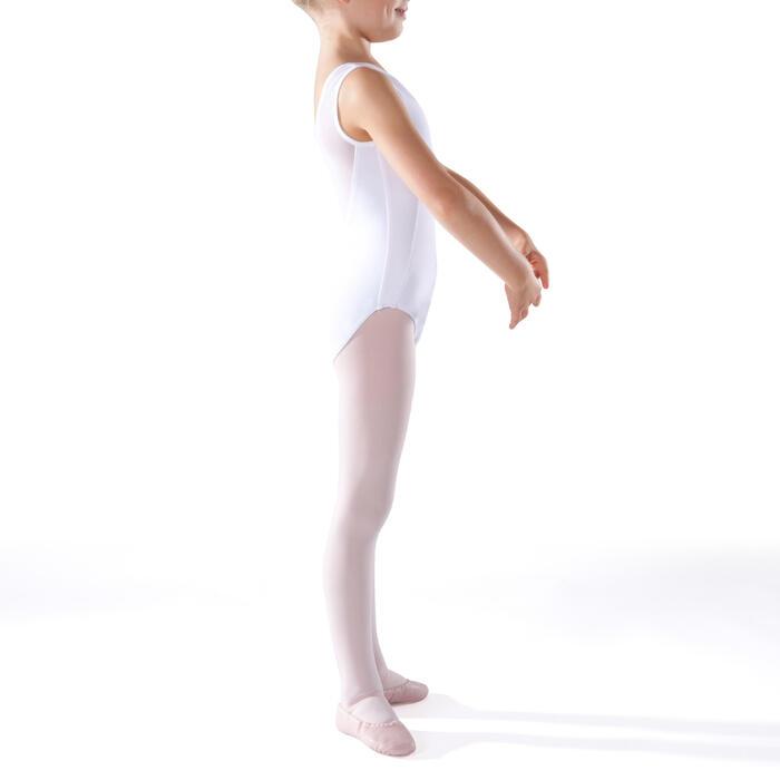 Justaucorps de danse classique bi-matière voile - 1269988