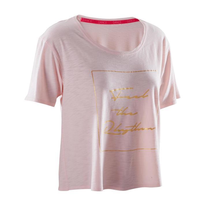 T-shirt court de danse femme - 1269994