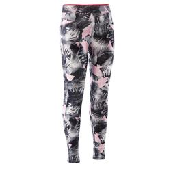 Leggings estampados de danza niña