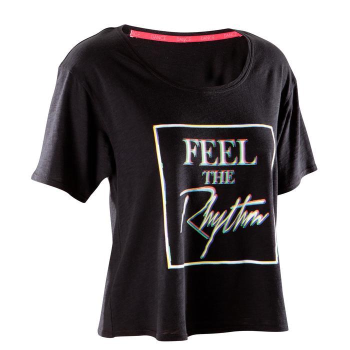 T-shirt court de danse femme - 1270010