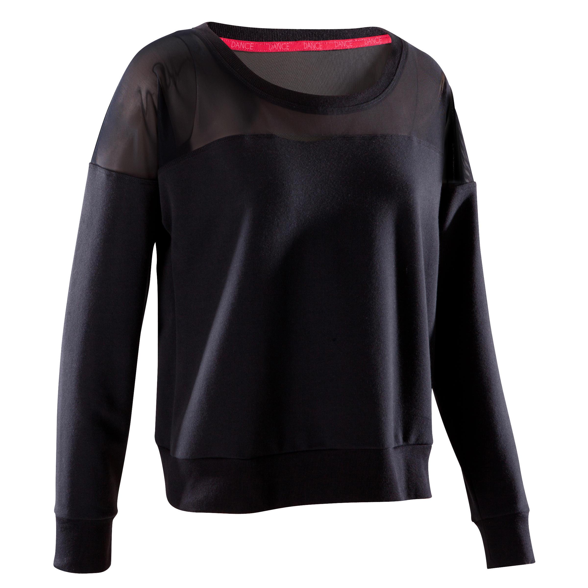 Domyos Danssweater voor dames zwart